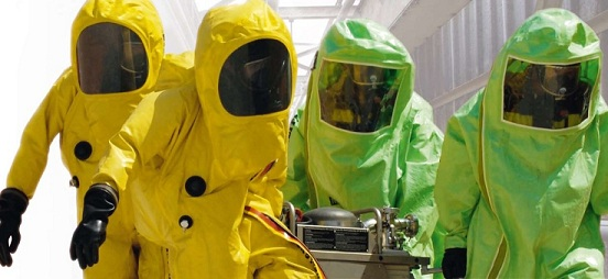 Chemicaliën kleding