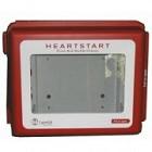 AED-alarmkast met geluids- /lichtsignaal