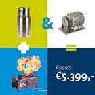 Vesta+ Gas Cylinder+ El. motor
