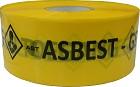 Afzetlint g/z 'Asbest niet betreden'